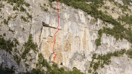 A First Ascent On The Balme Wall
